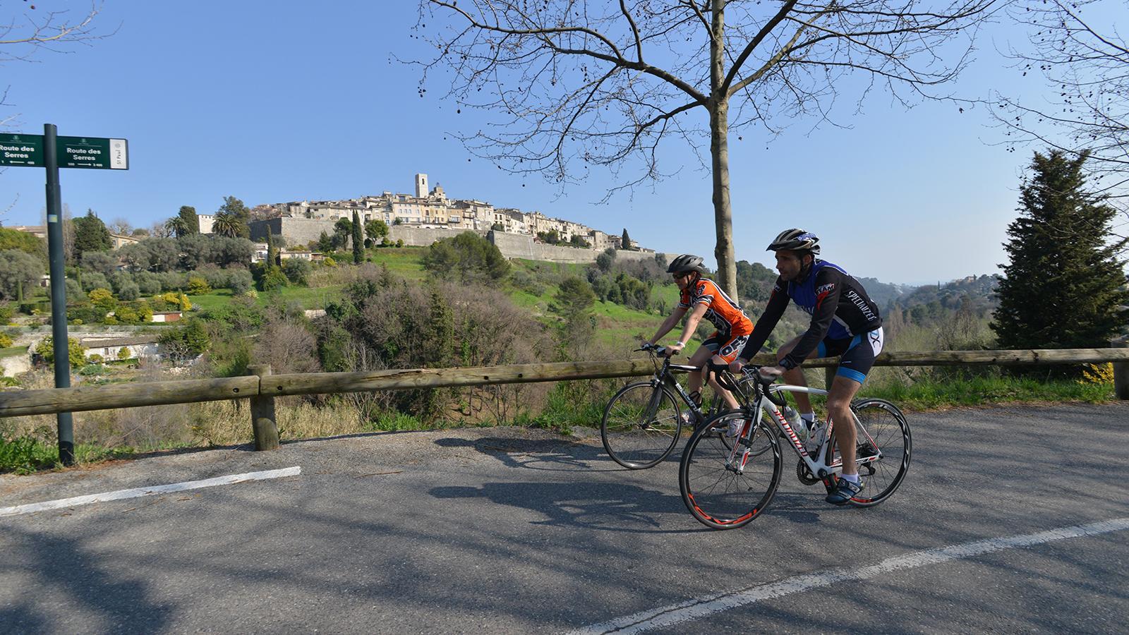 Boucle vélo Sur la route des peintres