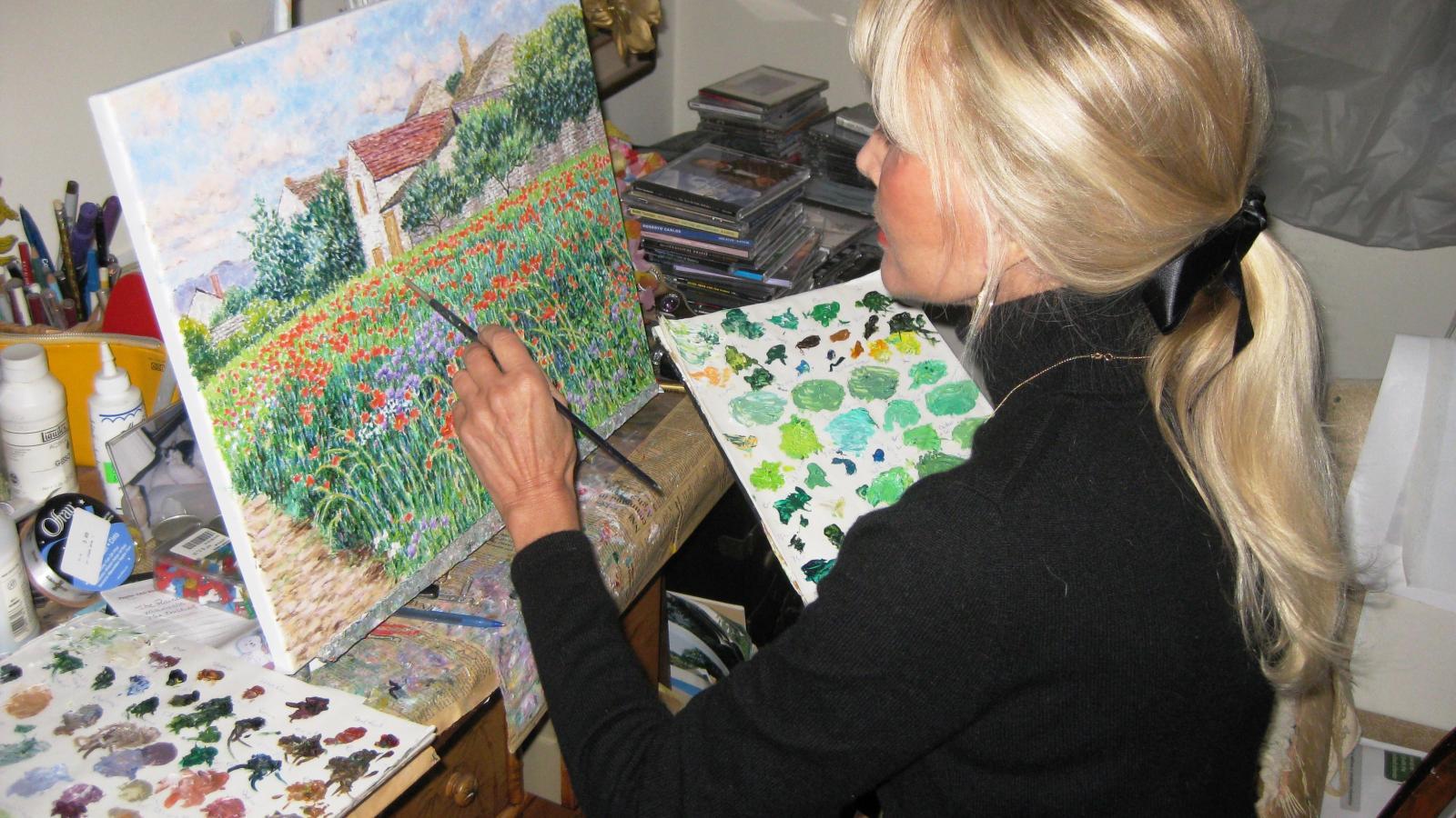 Exposition de Diane Monet