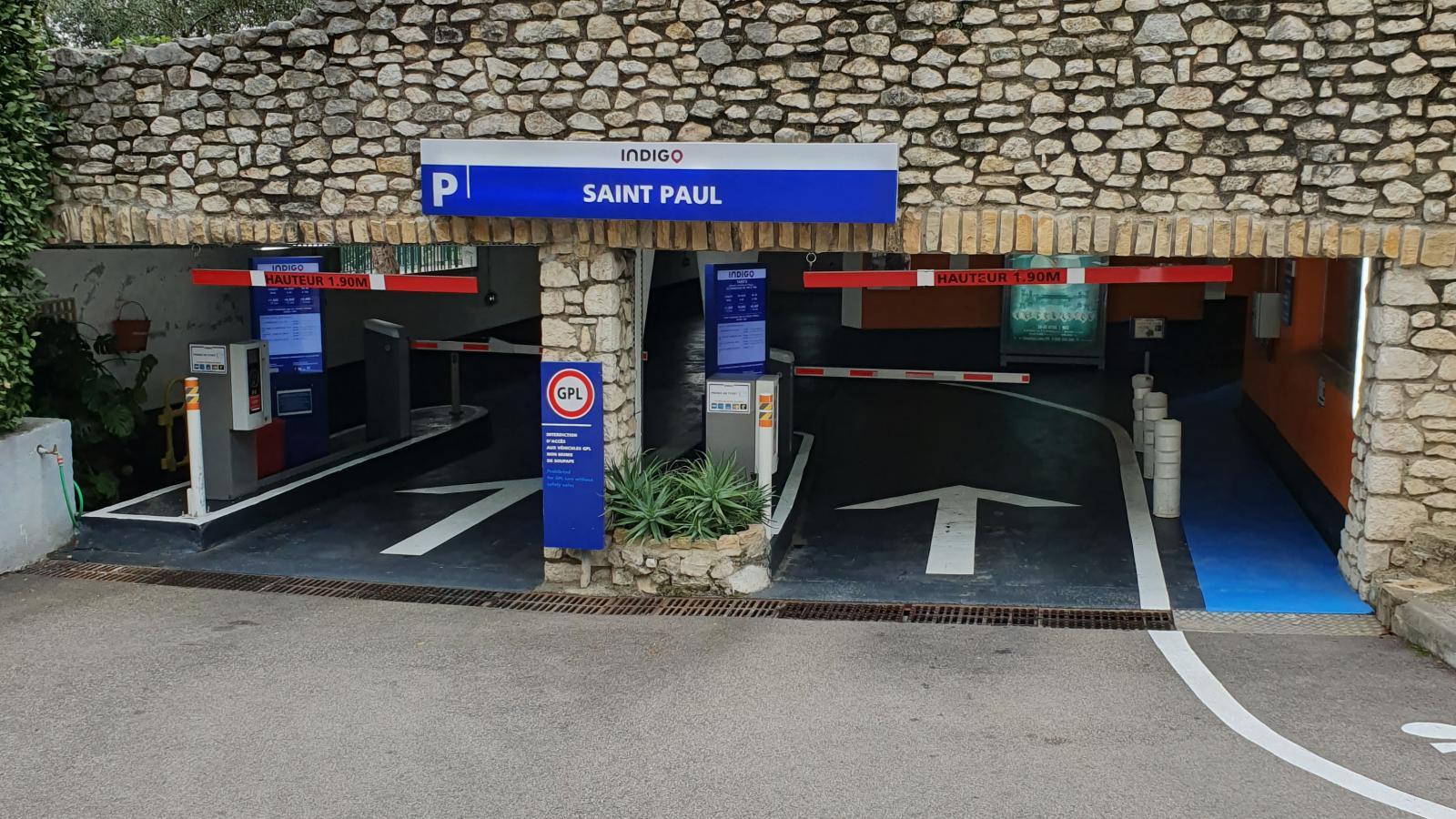 Parking privé souterrain Indigo