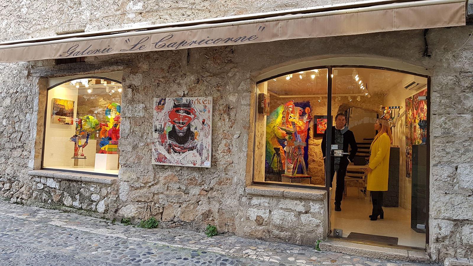 Saint Paul De Vence Art galeries le capricorne - saint-paul de vence