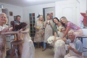 Atelier de sculpture Martine Wehrel