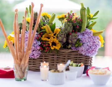 Composition florale Le Cantemerle
