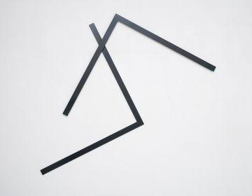 MORELLET François - 2015 - Faut le fer n°1 - Courtesy de l'artiste et de la galerie Catherine Issert
