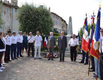 Célébration du 14 juillet à Saint-Paul de Vence