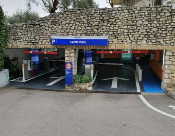Parking privé souterrain Indigo