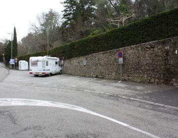 Parking réservé pour les campings-cars