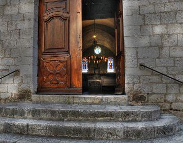 Eglise collégiale à Saint-Paul de Vence